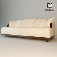 maharaja sofa giorgetti 3d max