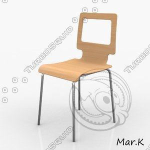 3d chair ton
