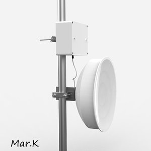 wireless antenna 3d model