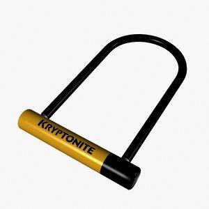 kryptinite lock 3d model