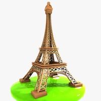 Cartoon Eiffel Tower