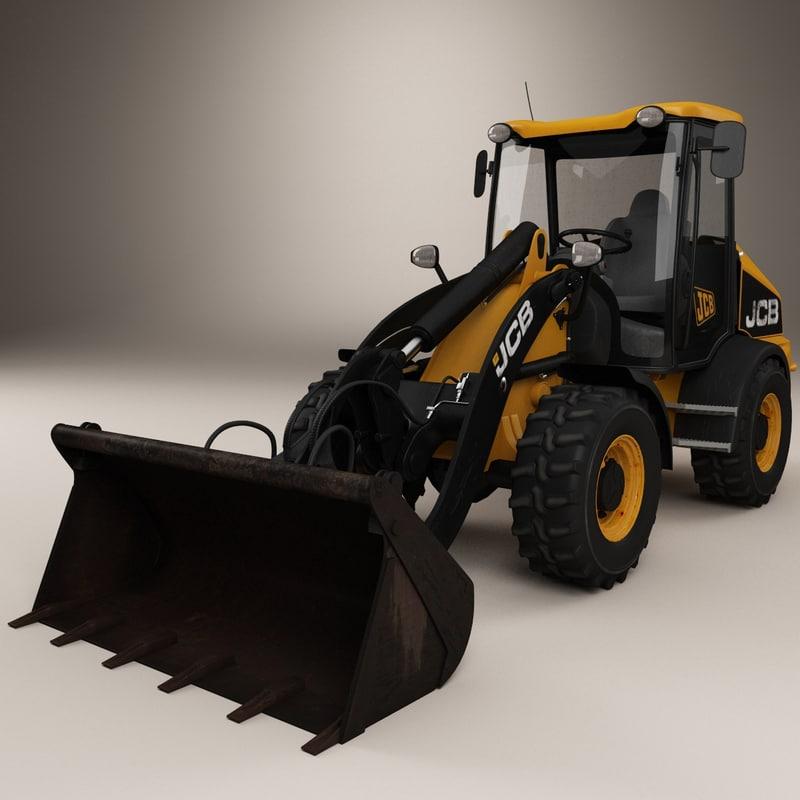 3d loader dirt rusty