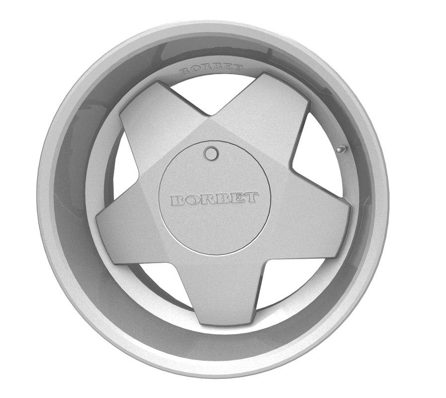 maya borbet alloy wheel
