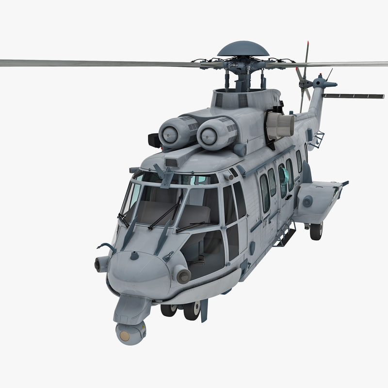 3d model euro ec725 caracal tactical