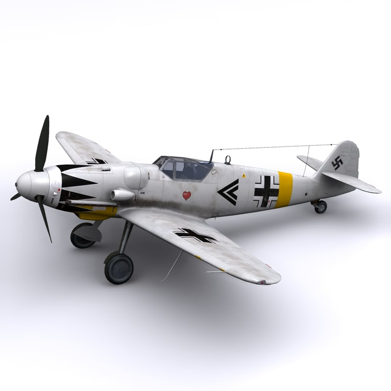 3d model german g14 erich hartmann