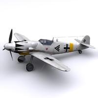 Bf-109 G14 Erich Hartmann, Winter 1945