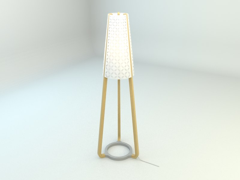 max torna floor lamp