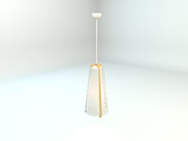3d ikea torna pendant lamp model