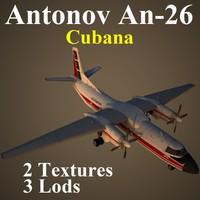 AN26 CUB