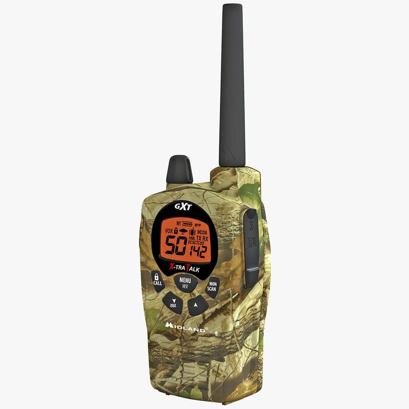 3d 3ds midland gxt1050vp4 way radio