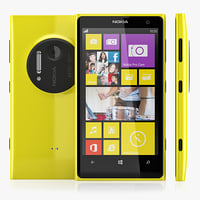 nokia lumia 1020 3d model