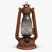 Vintage Oil Lamp 2