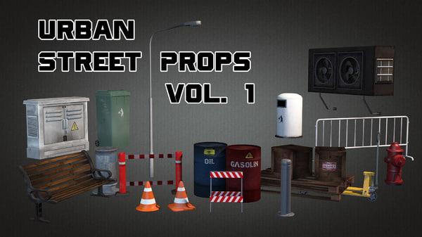 max urban street props vol 1