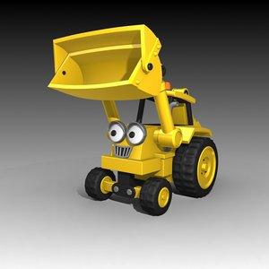 3d max scoop bob builder