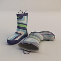 Kid's Rain Boots