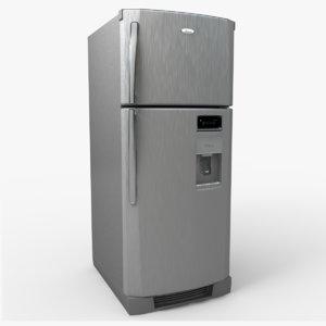 wt6507a refrigerator 3d model