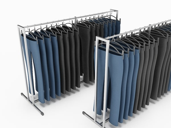 dress pants rack 3ds
