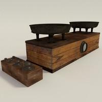 3dsmax antique balance