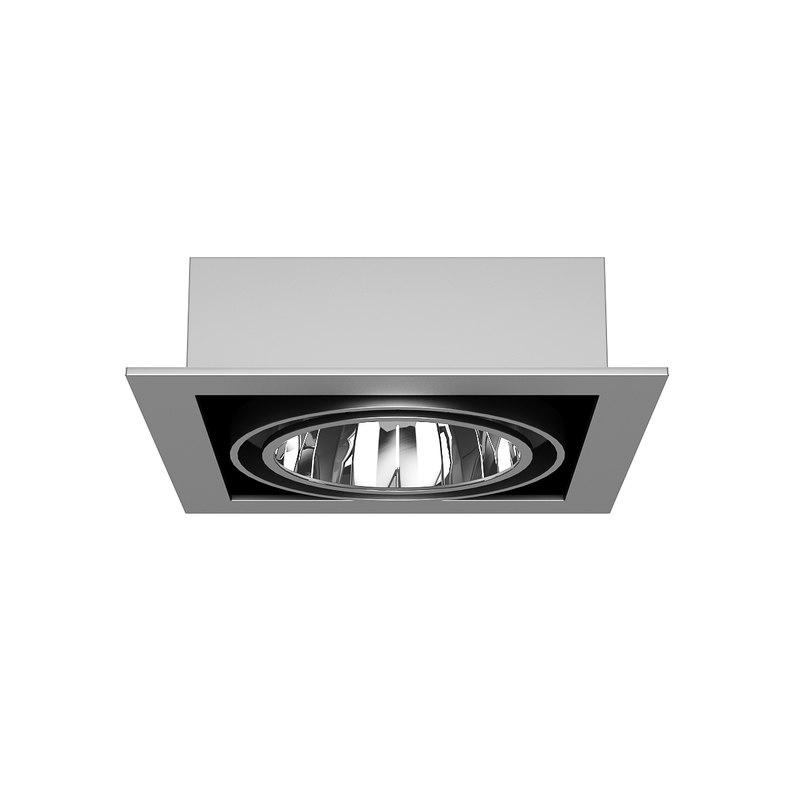 ceiling halogen 3d model