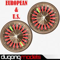 3dsmax roulette wheel