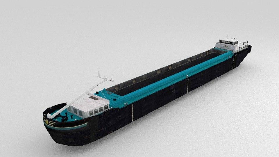 3ds cargo ship