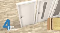 Modern Door Set Collection (4 pieces)