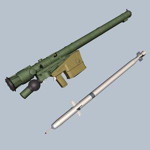 3d model sa-24 grinch