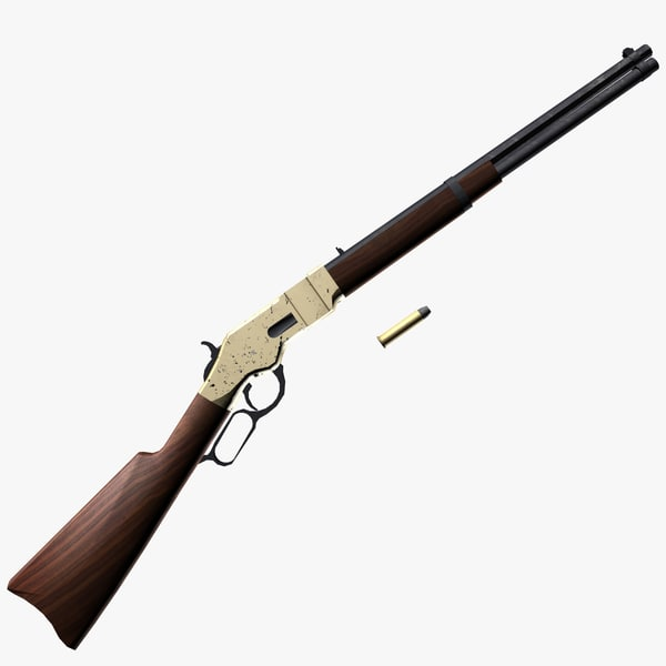 3d winchester rifle