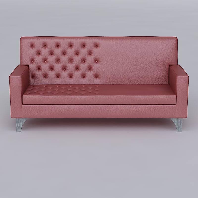 sofa hdri 3d model