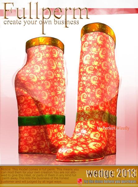 heel wedge 3ds
