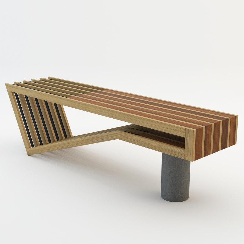 Model A Bench Seat ~ Pinch bench d model