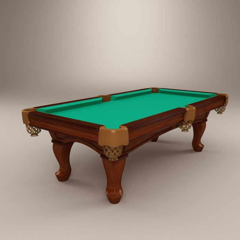 berner billiards pool 3d model