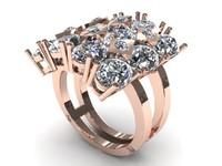 Flower Women Ring