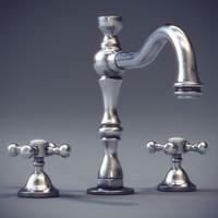 Faucet Cristal Et Bronze