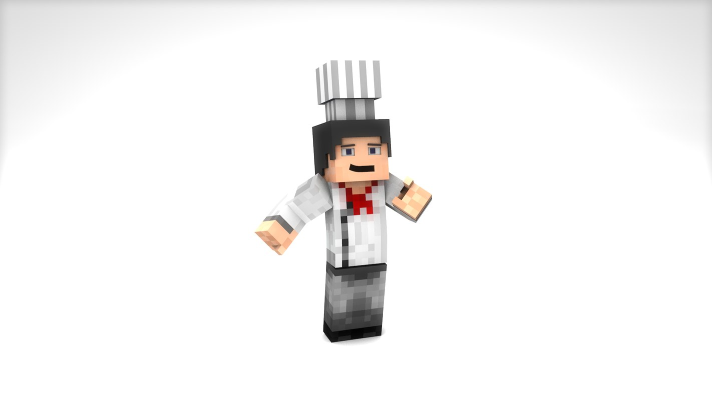 cinema4d minecraft chef