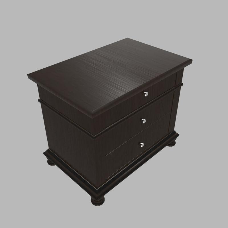 3ds max drawer dresser