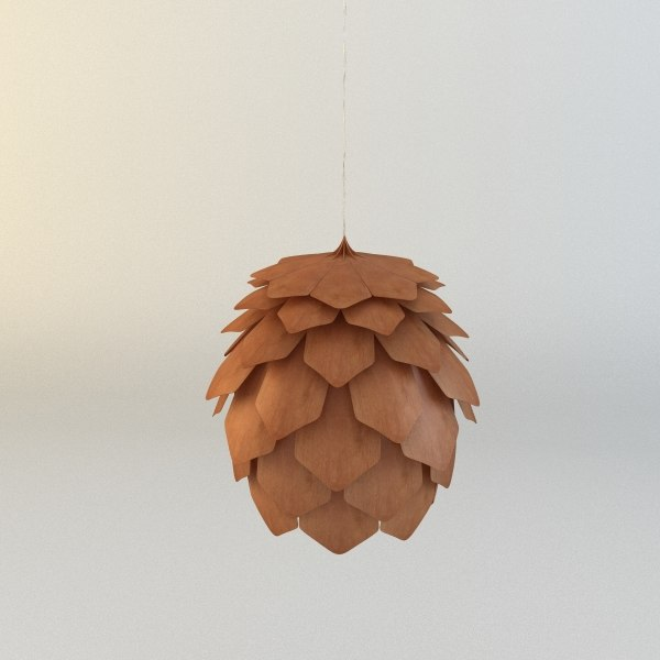 3d crimean pinecone