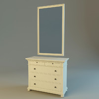 st james 5-drawer dresser max