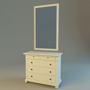 st james 5-drawer dresser max