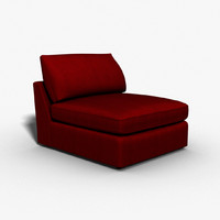 select chairs sectional 3d max