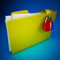 folder lock 3d max