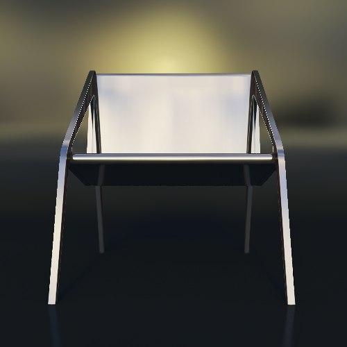 arachnide chair 3d max