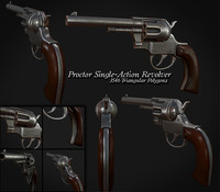 Antique Revolver