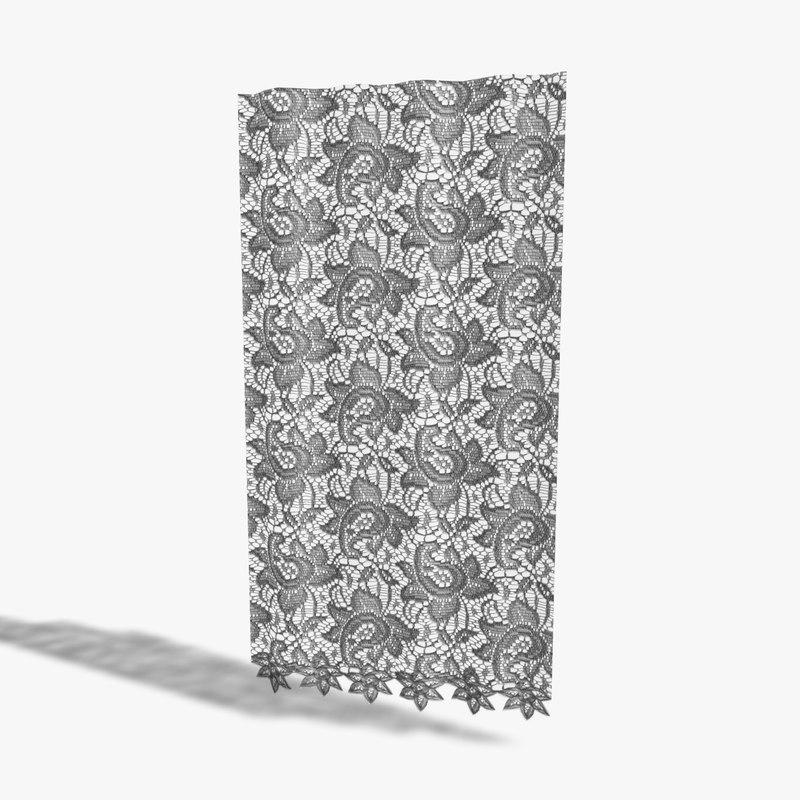 3d net curtain