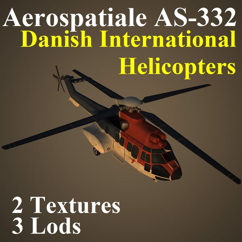 aerospatiale helicopters pal max