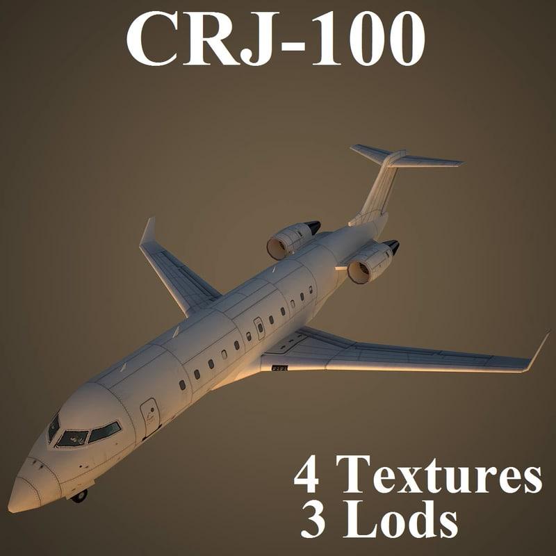 3d regional jet model
