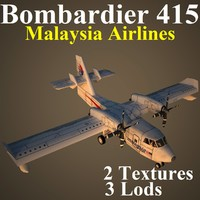 3d bombardier mas aircraft