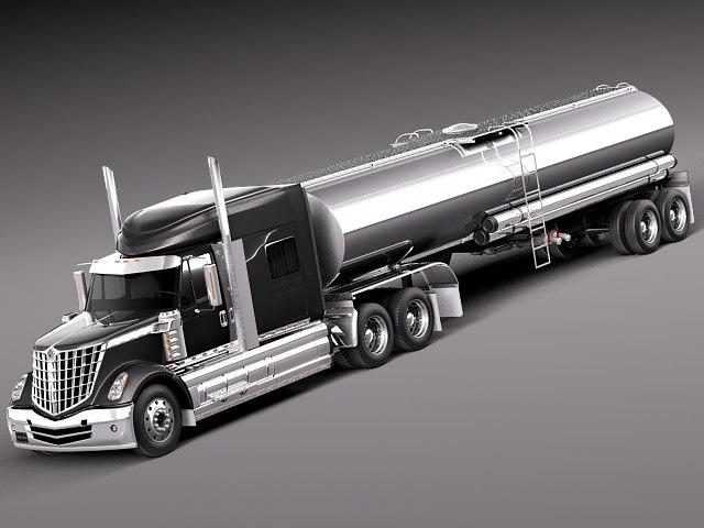 2013 2014 tank truck 3d max