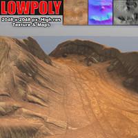 3dsmax canyon maps terrain