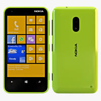 nokia lumia 620 green max